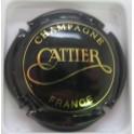 CATTIER N°6 NOIR ET OR BRILLANT