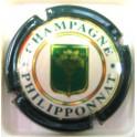 PHILIPPONAT N°28 ECUSSON VERT ET OR