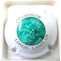LONGIS-LANGLAIS N°02 BLANC CENTRE VERT FONCE