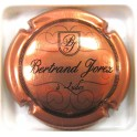 JOREZ BERTRAND N°20C CUIVRE-ROSE ET NOIR