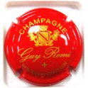 REMI GUY N°02A BLASON ROUGE ET OR