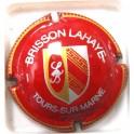 BRISSON-LAHAYE N°04 BORDEAUX FONCE STRIEE