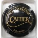 CATTIER N°04A NOIR ET JAUNE-BISTRE
