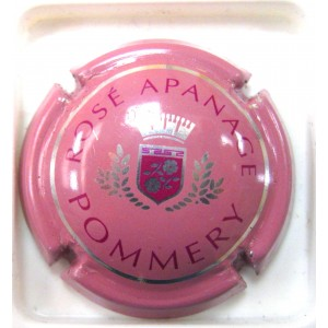 POMMERY N°095A ROSE APANAGE 32 MM
