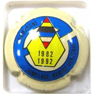 VERZENAY N°04 JUMELAGE 1982/1992